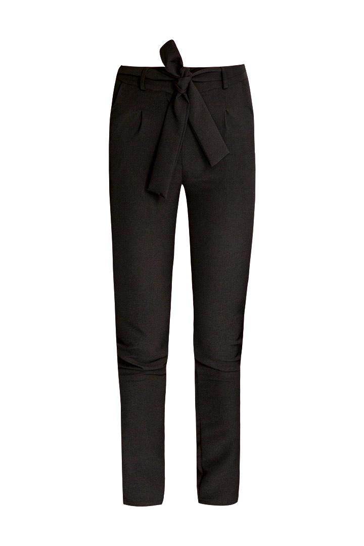 Pantalón basic lazo negro