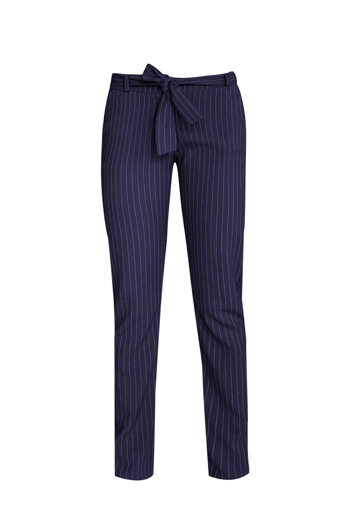 Pantalón basic rayas navy