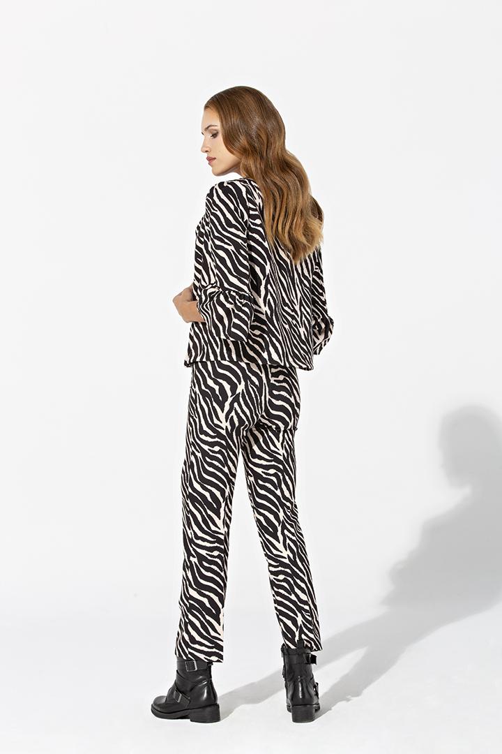 Chaqueta a conjunto de zebra
