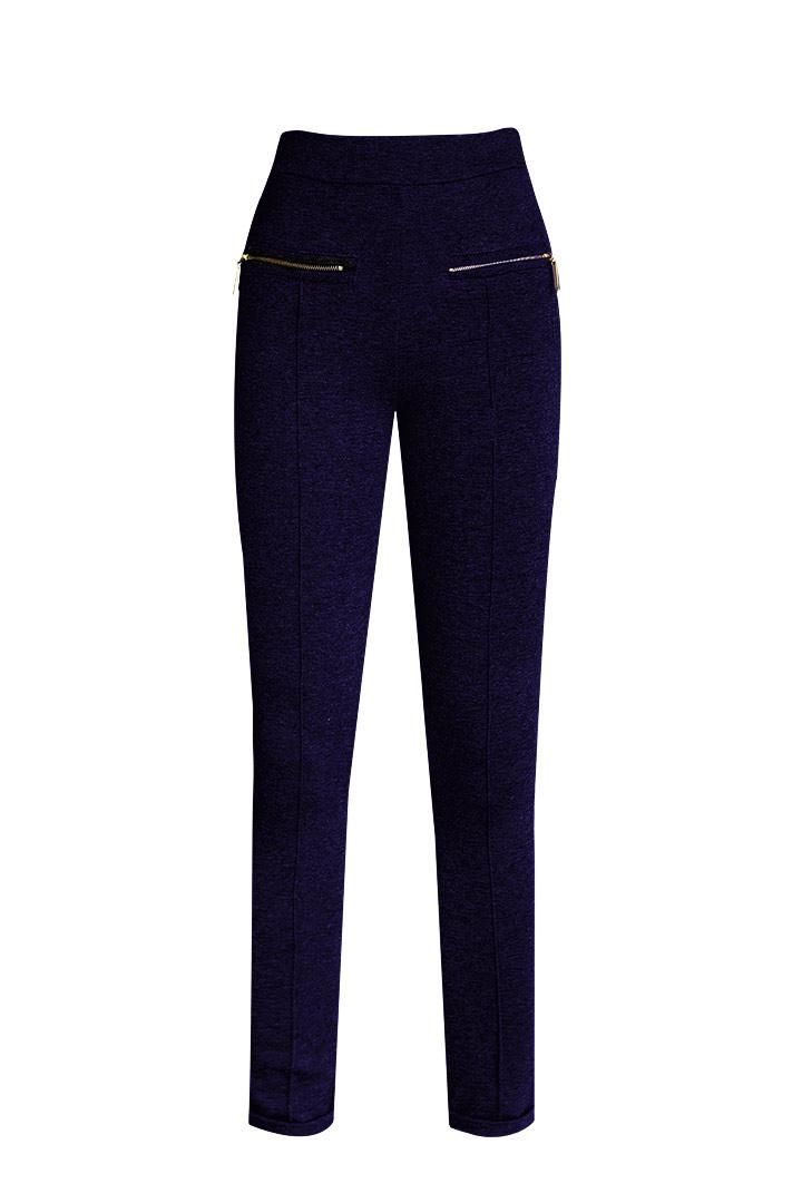Pantalón elástico navy
