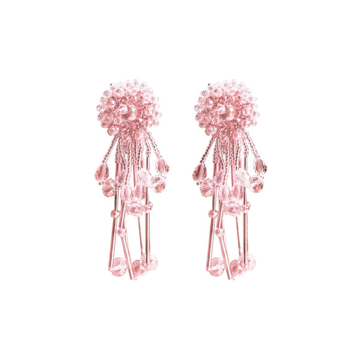 Teria Yabar - Pendientes largos medusa
