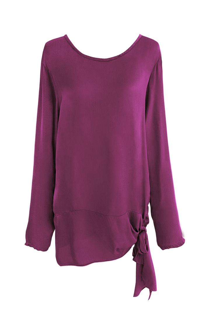 Camisa Marlasa con Lazada Basic Teria Yabar