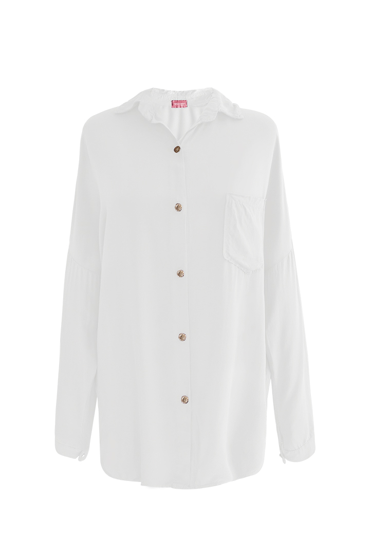 Camisa Bolsillo Basic Teria Yabar