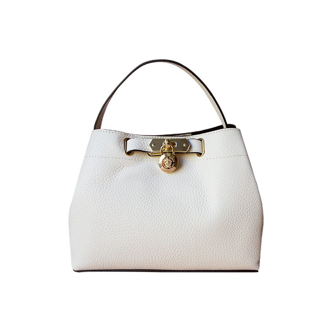 Bolso bucket blanco