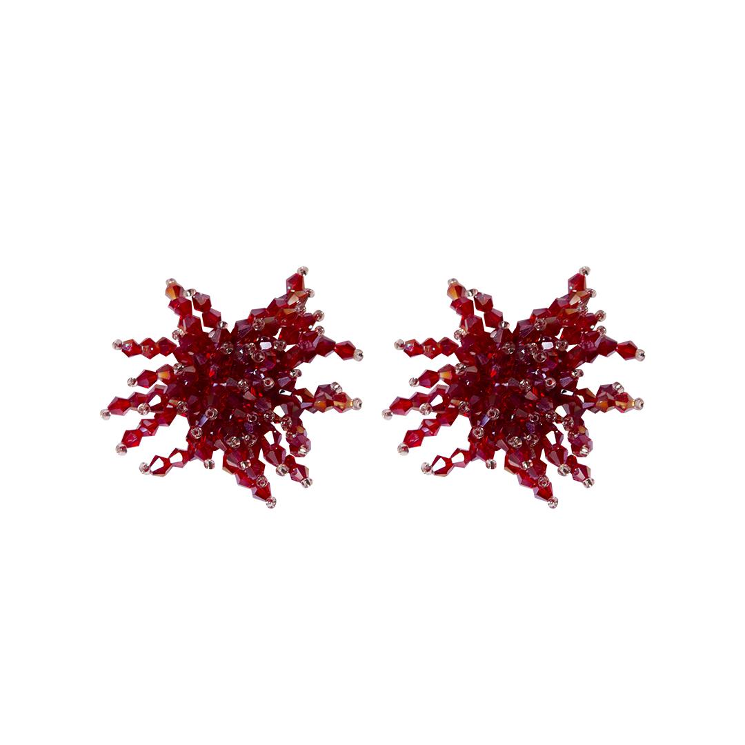 Pendientes Arrecife de Cristales Teria Yabar