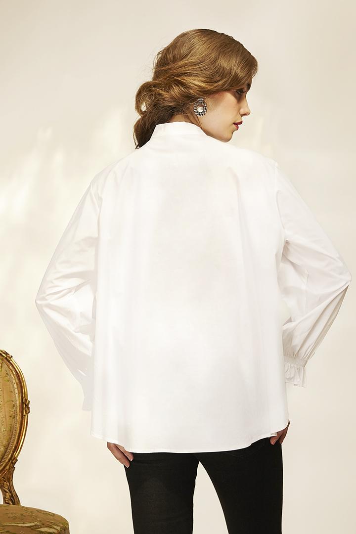 Camisa sudadera blanca Woman