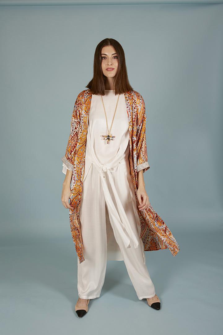 Kimono Sherezade naranja