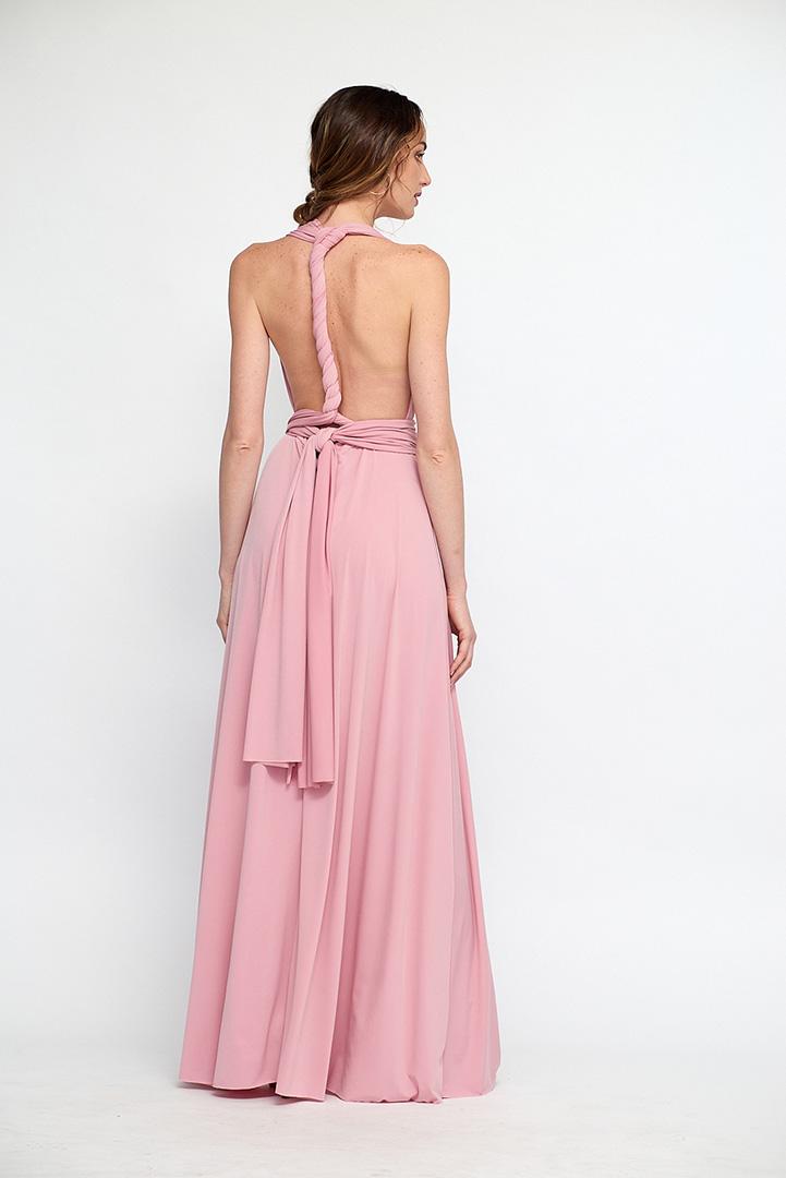 Vestido Multiposición rosa