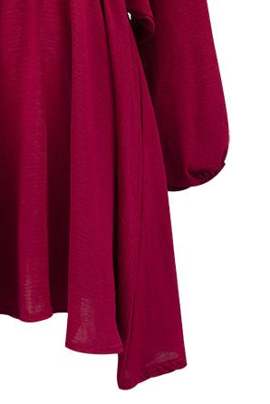 Vestido Rioja Vestido Rioja Teria Yabar