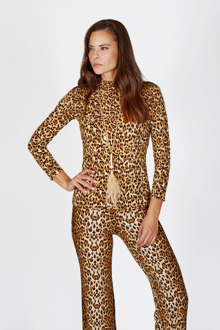 Camiseta Leopardo Camiseta Leopardo Teria Yabar