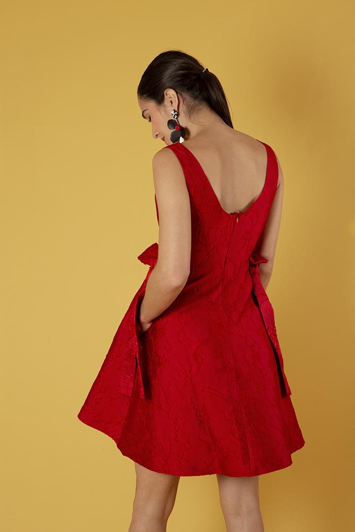 Vestido lady rojo