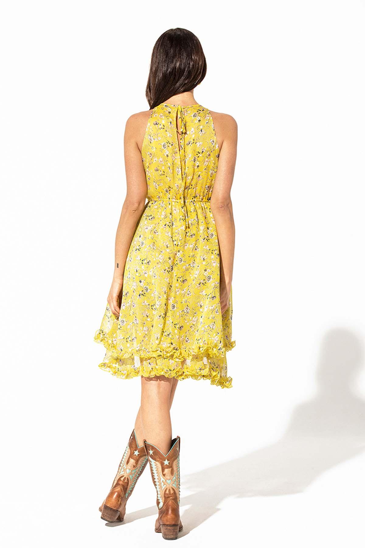 Vestido corto asimétrico