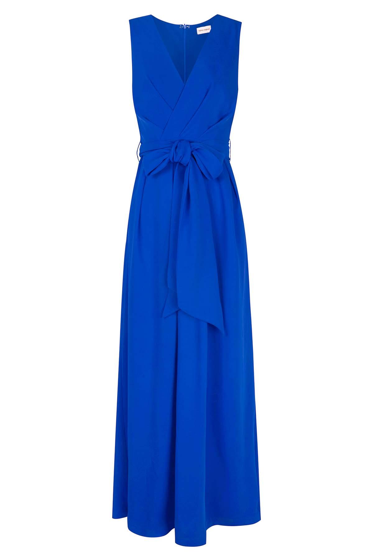 Teria Yabar - Vestido azul Saint Germain