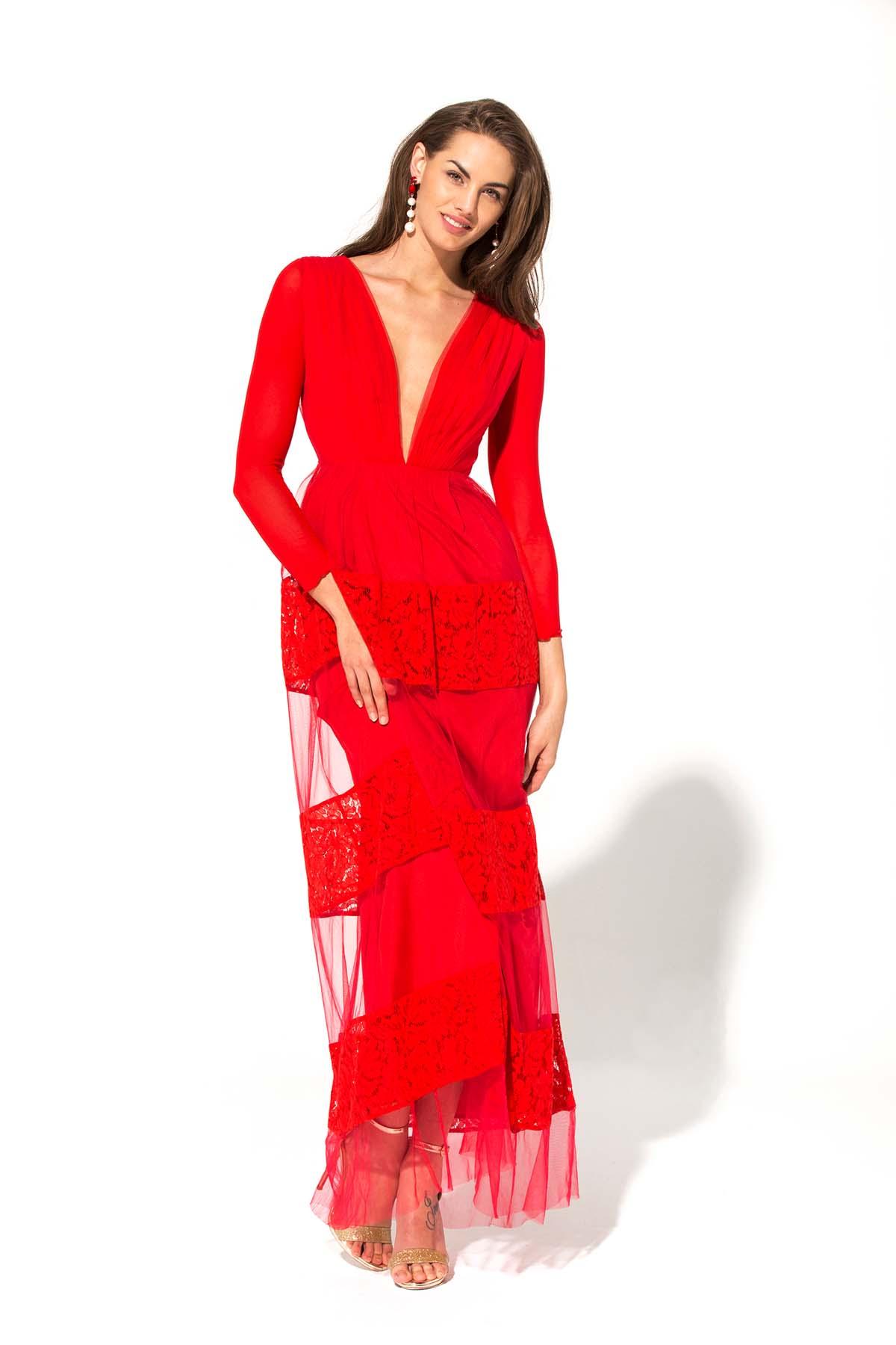 Vestido de fiesta Rubí