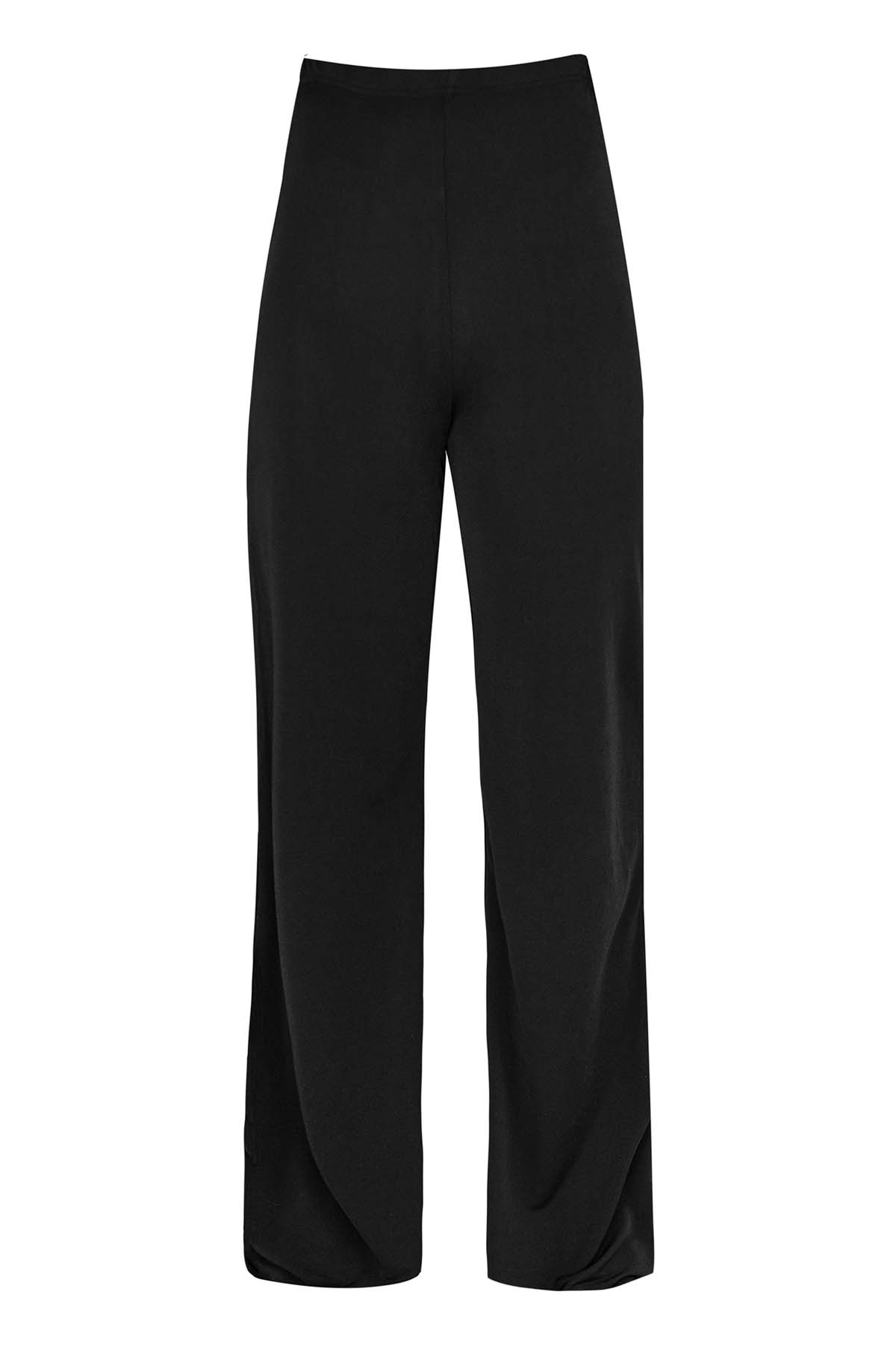 Teria Yabar - Pantalón flare negro