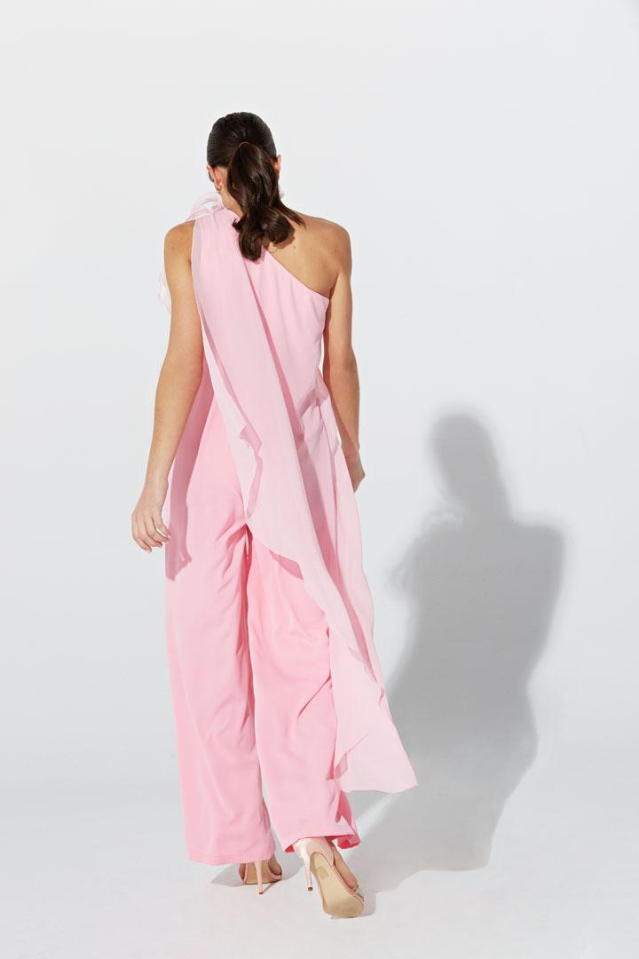 Mono capa rosa