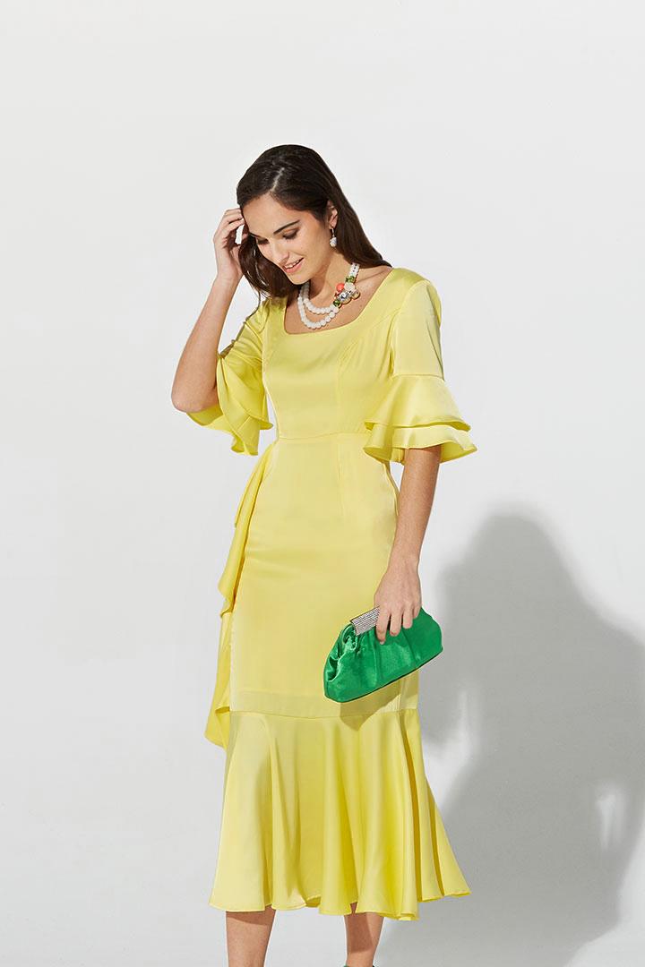 Vestidos para coctel primavera 2019