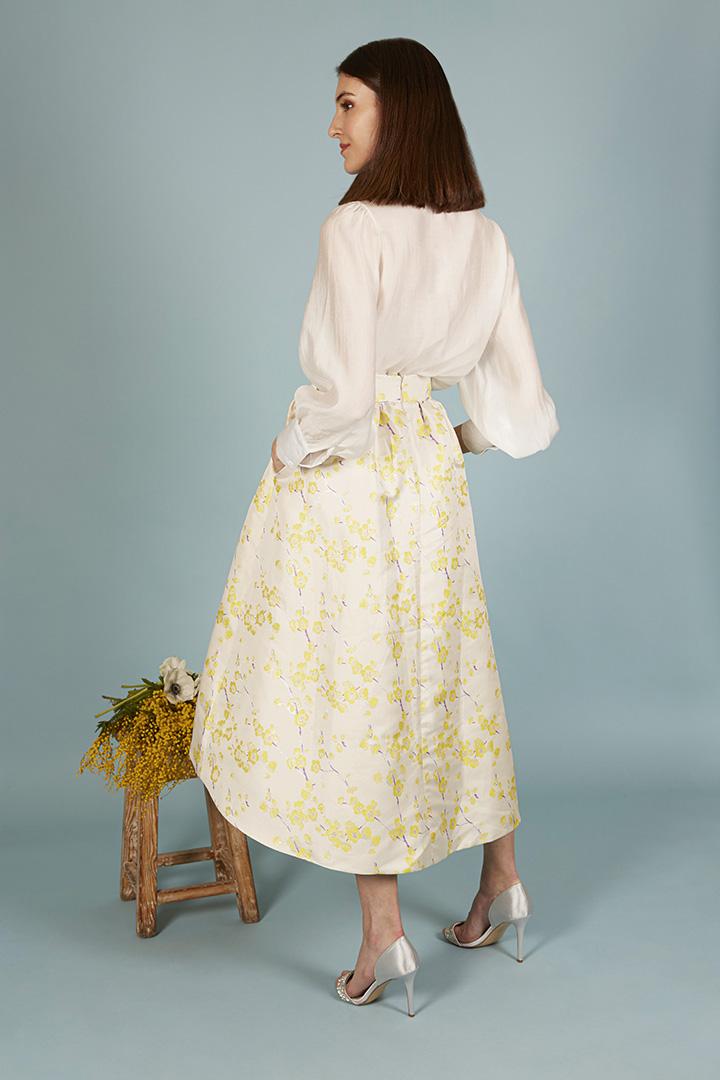 Falda amarilla Diana