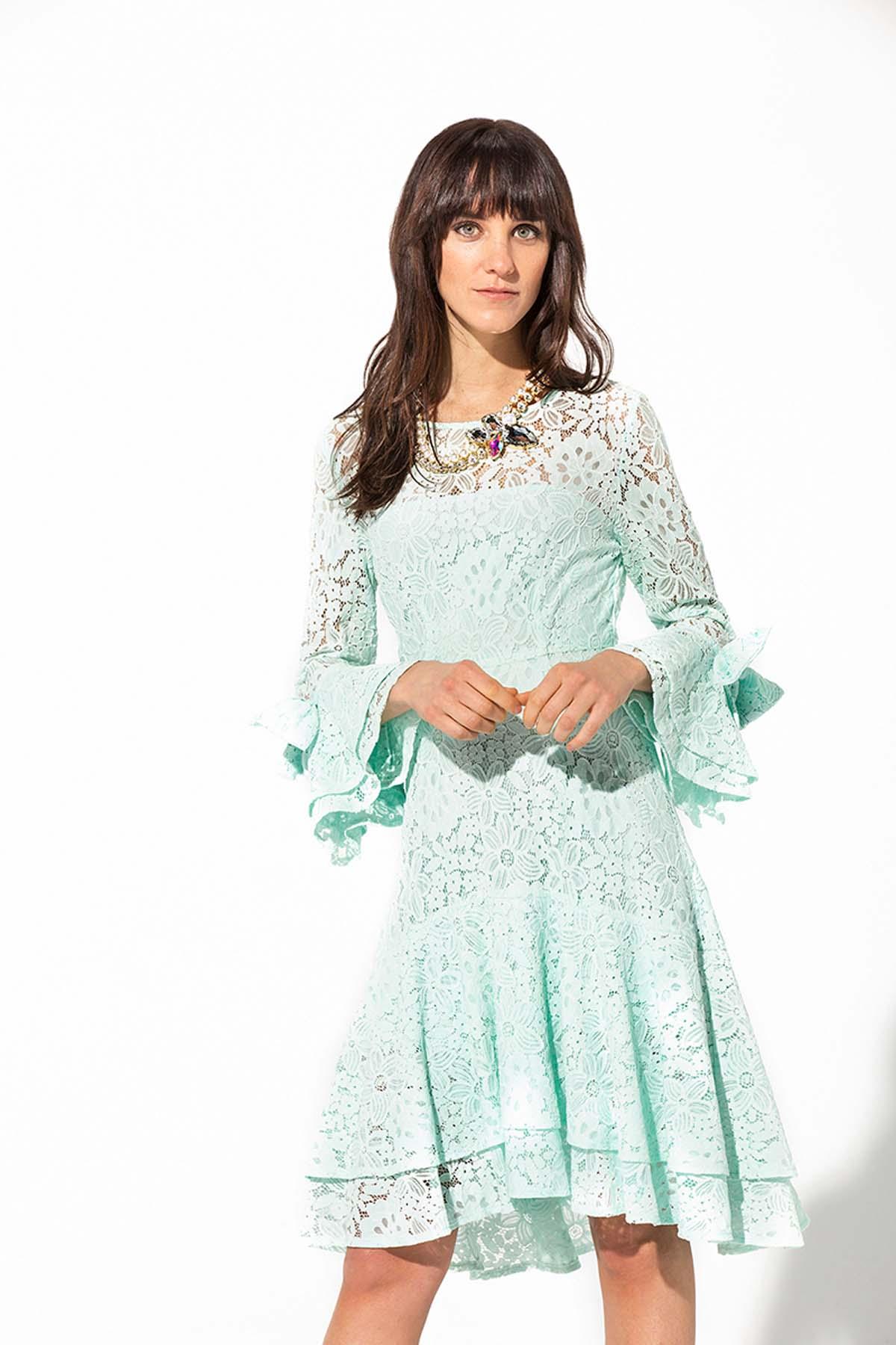 Vestido de ceremonia de encaje
