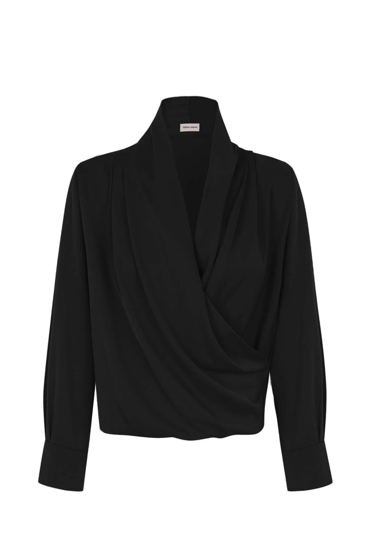 Teria Yabar - Camisa Passy noir