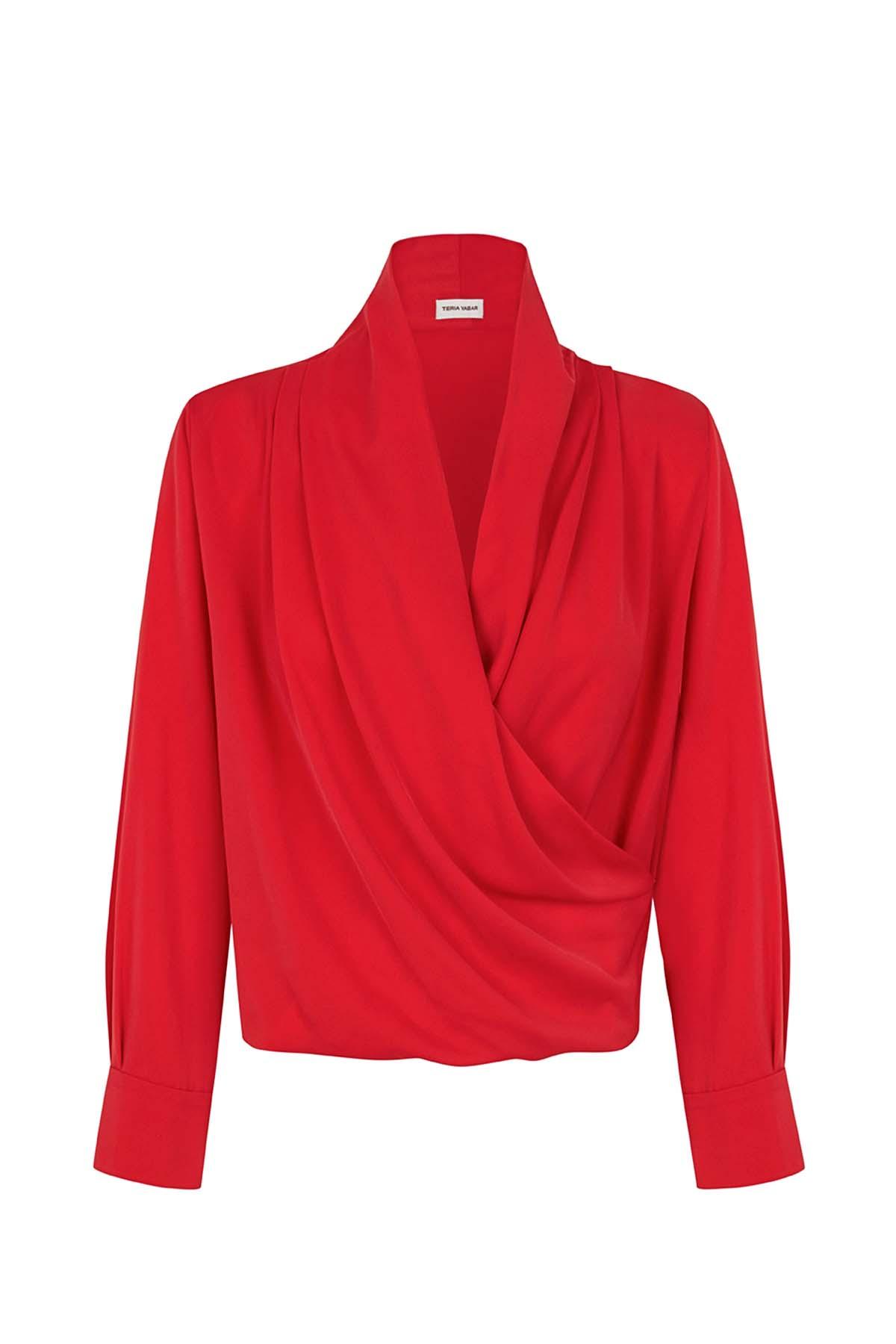 Teria Yabar - Camisa Passy rouge