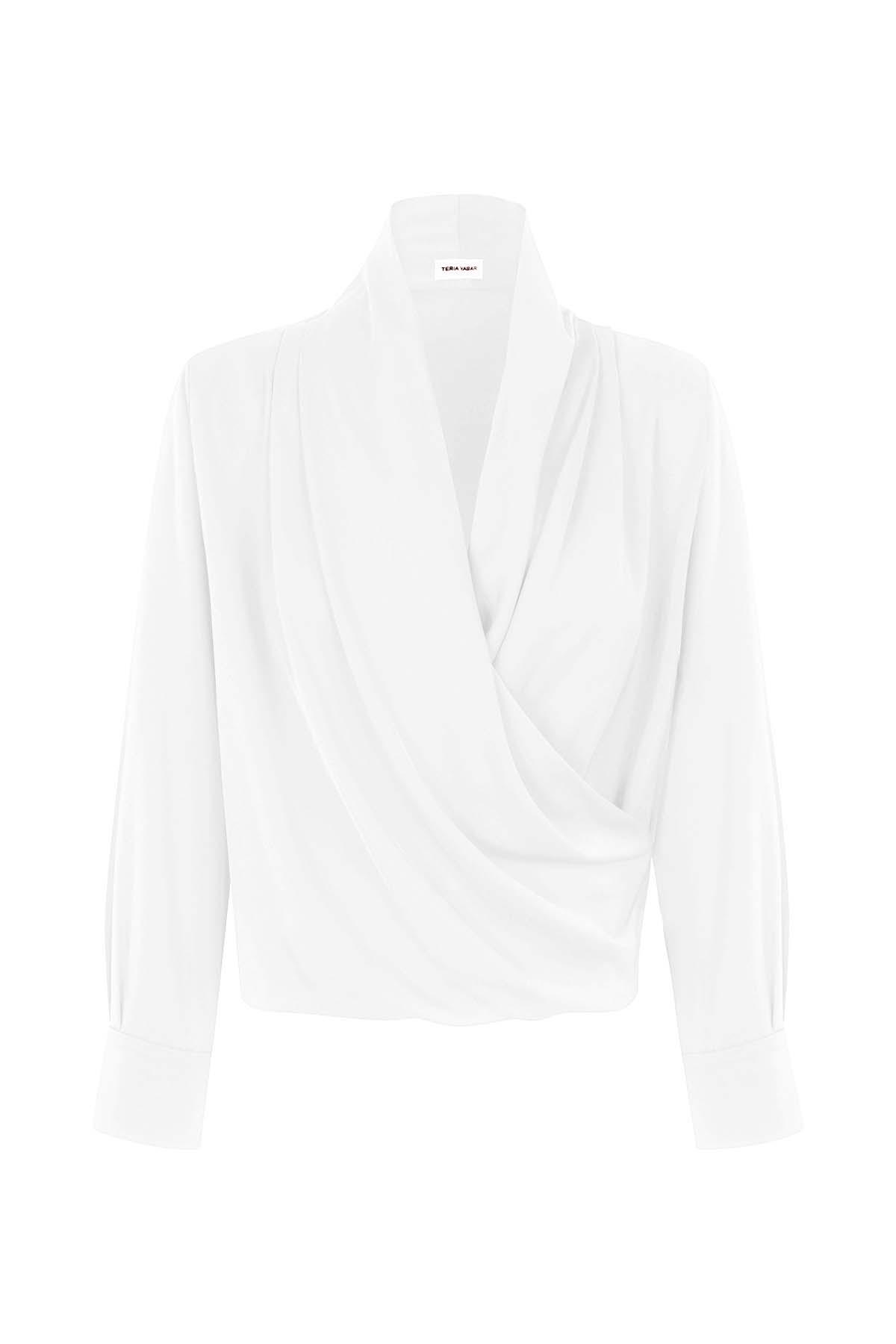 Teria Yabar - Camisa Passy blanc