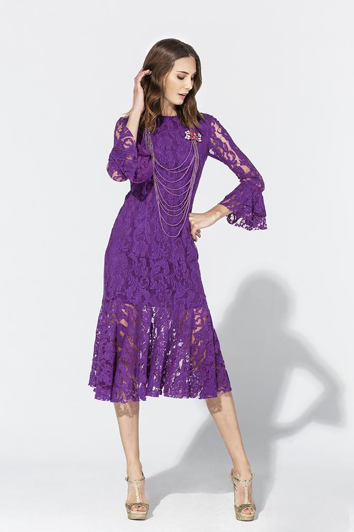 Vestidos formales otono invierno 2019