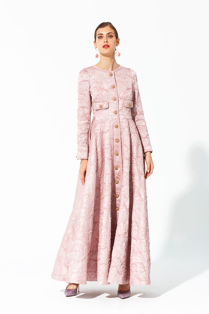 Vestidos largos de otono 2019