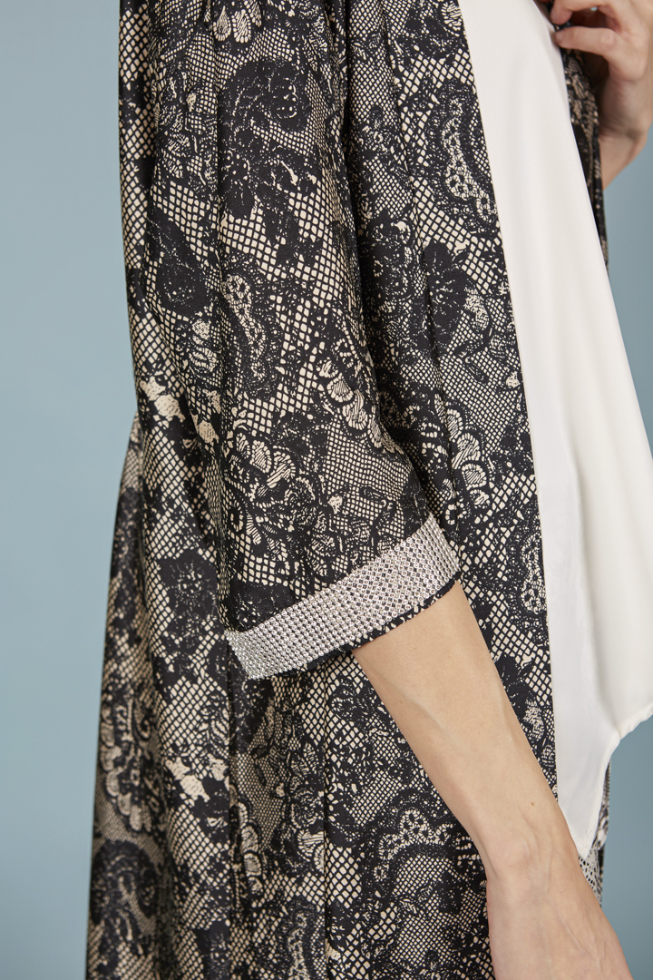 Kimono Sherezade negro
