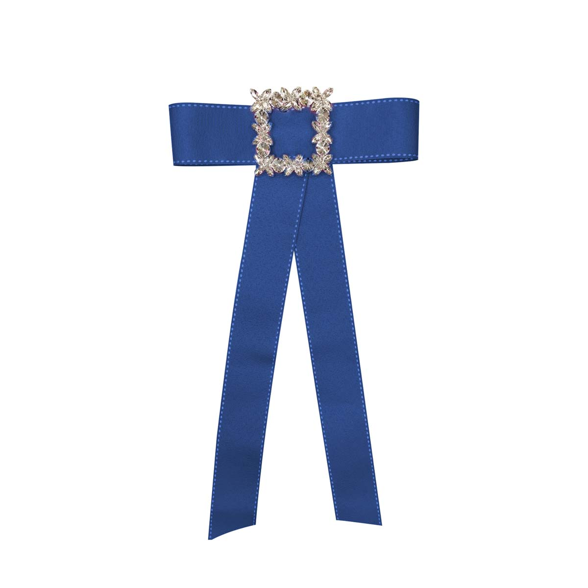 Teria Yabar - Broche lazo azul intenso