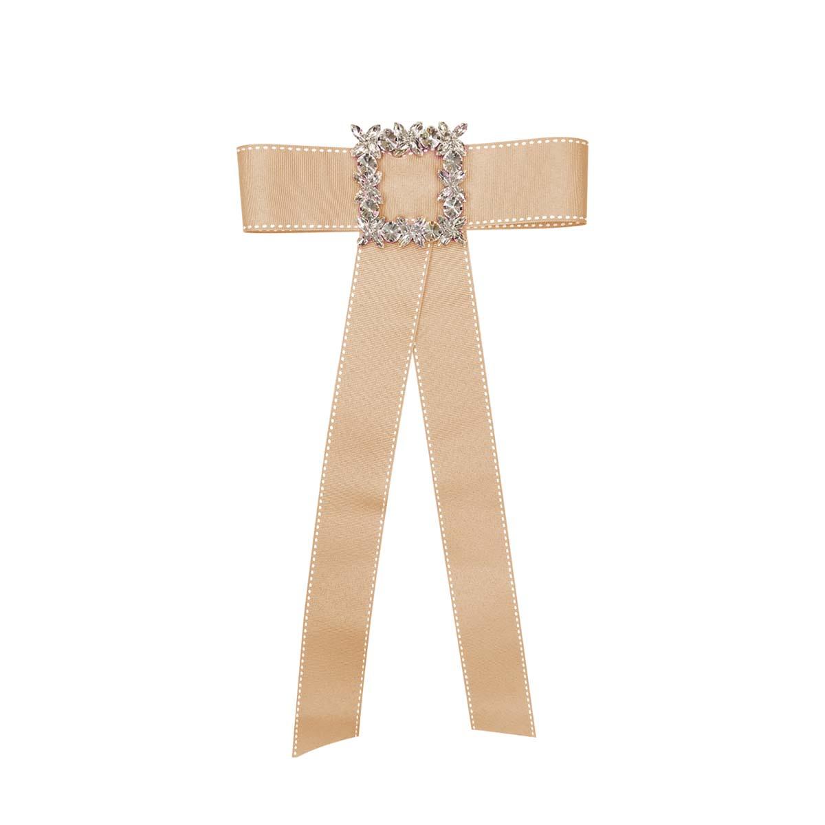 Teria Yabar - Broche corbata meolocotón