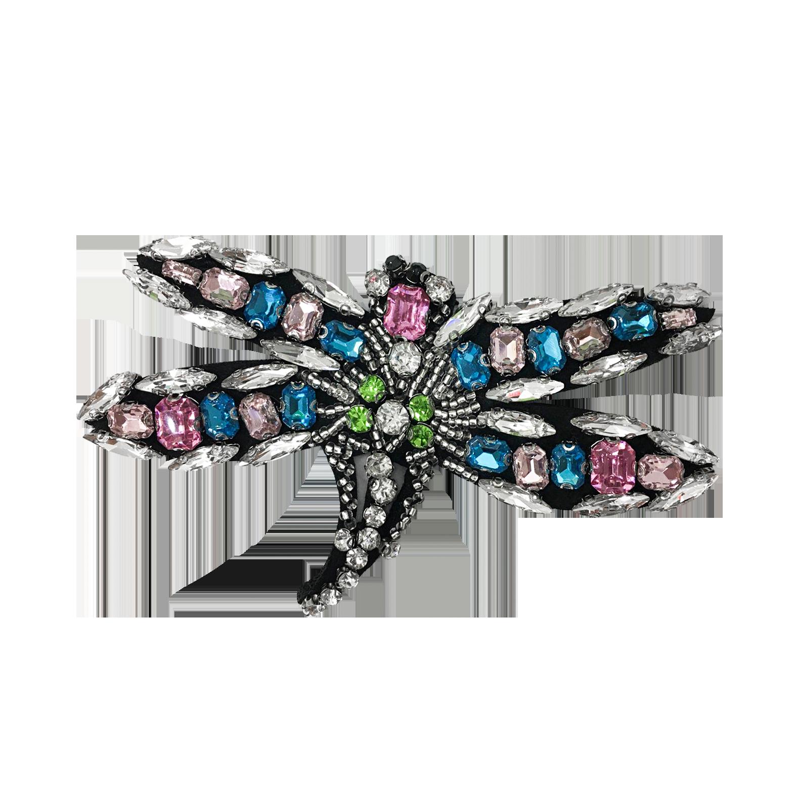 Teria Yabar - Broche libélula
