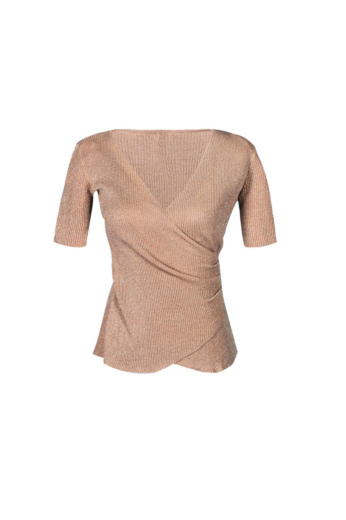 Teria Yabar - Jersey dorado de canalé