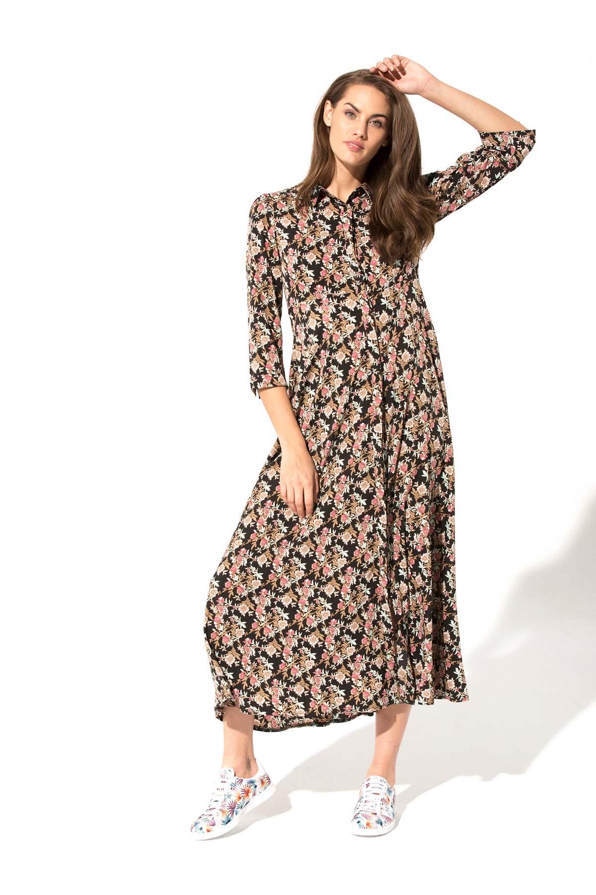 Teria Yabar - Vestido de estampado floral