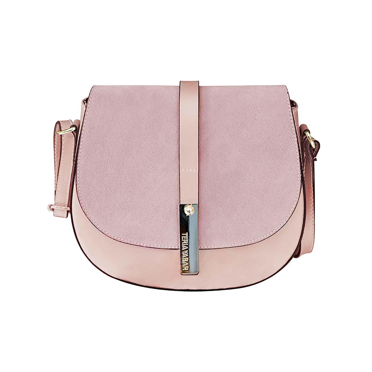 Teria Yabar - Bolso bandolera rosa