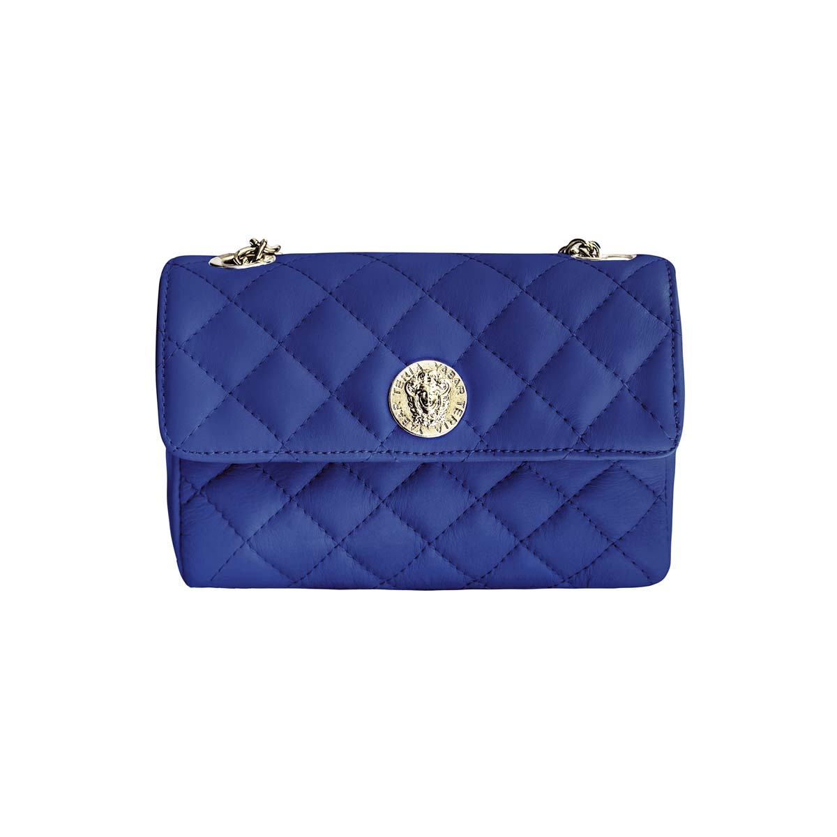 Teria Yabar - Bolso acolchado azul