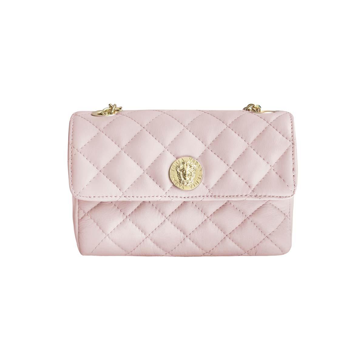 Teria Yabar - Bolso acolchado rosa
