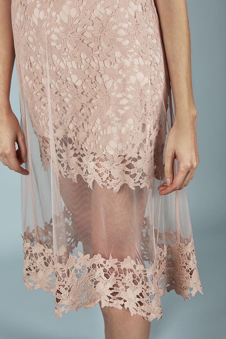 Vestido Colette rosa