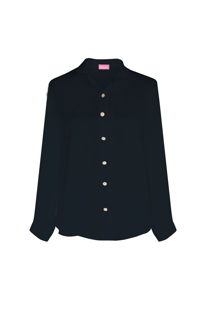 Camisa basic negra