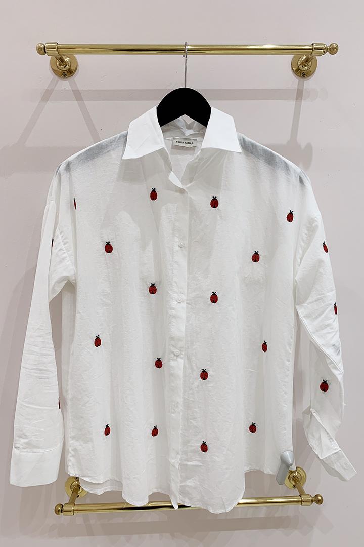 Camisa Mariquitas Teria Yabar