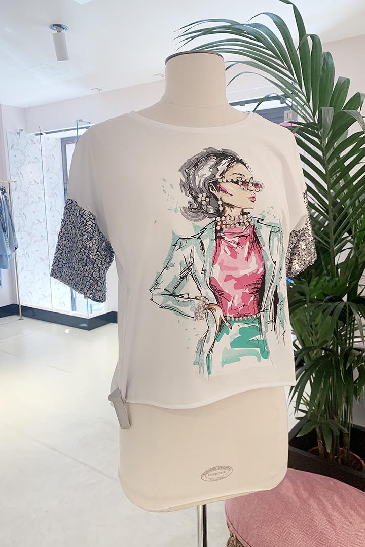 Camiseta Diva Teria Yabar