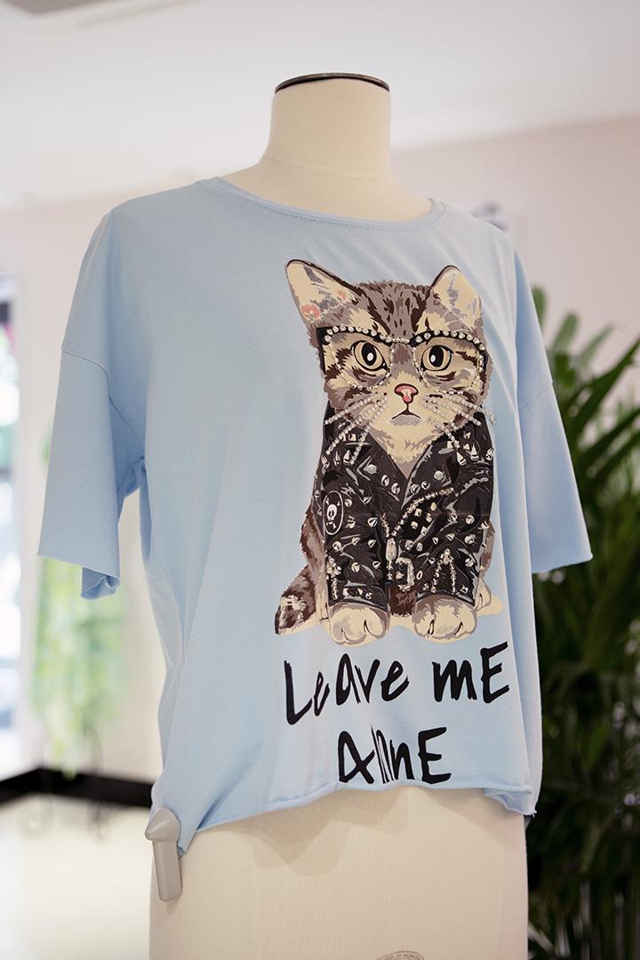 Camiseta Kitty Cool Teria Yabar