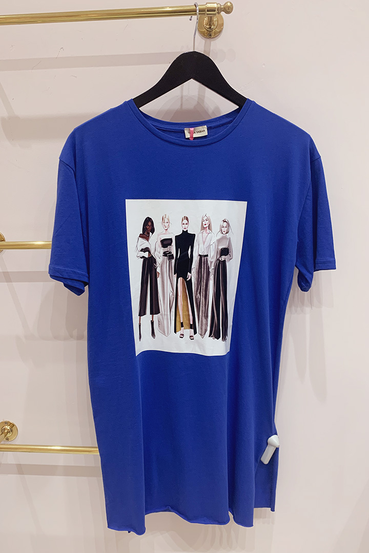 Camiseta Models Teria Yabar