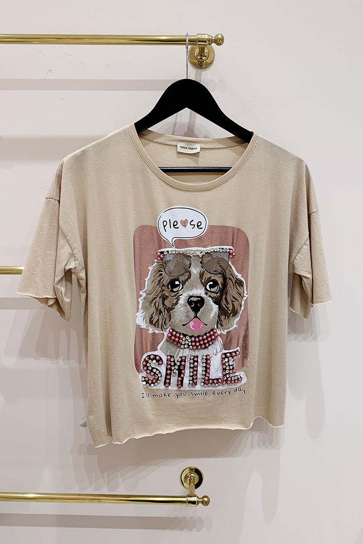 Camiseta Perrita Chic Teria Yabar