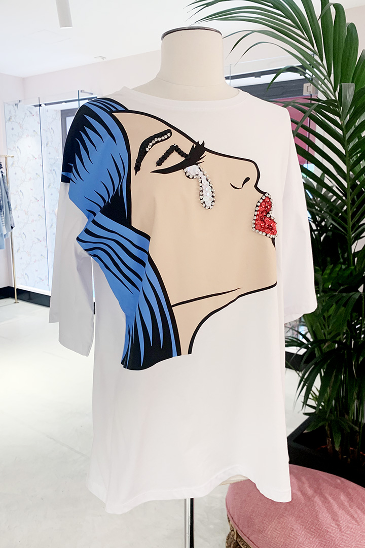 Camiseta POP Teria Yabar