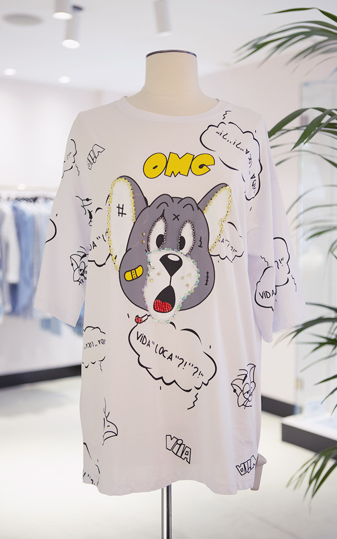 Camiseta Tom&Jerry Teria Yabar