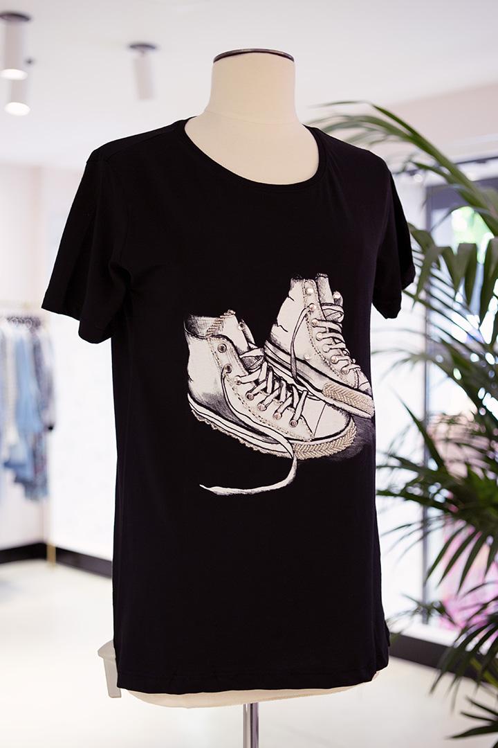 Camsieta Zapatillas Negra Teria Yabar