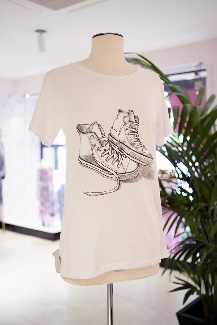 Camiseta Zapatillas Teria Yabar