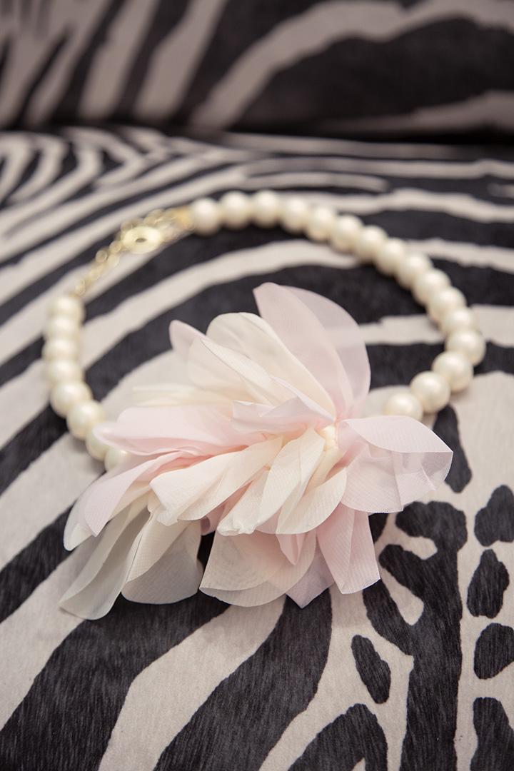 Collar Flor Georgette Baby