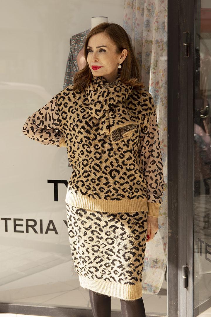 Conjunto Punto Leopardo Teria Yabar
